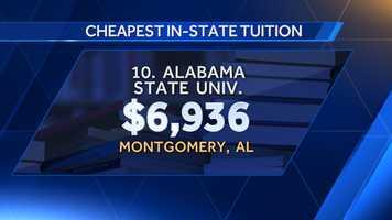 10. Alabama State University