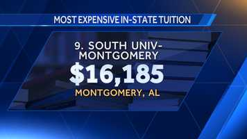 9. South University-Montgomery