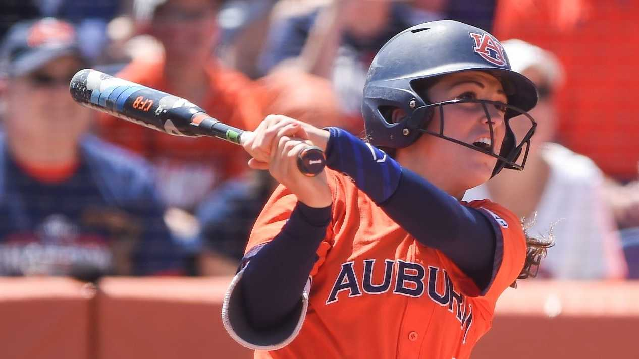 No. 5 Auburn softball claimed the NCAA Regional with a 14-2 run-rule victory over Jacksonville State on Sunday afternoon.