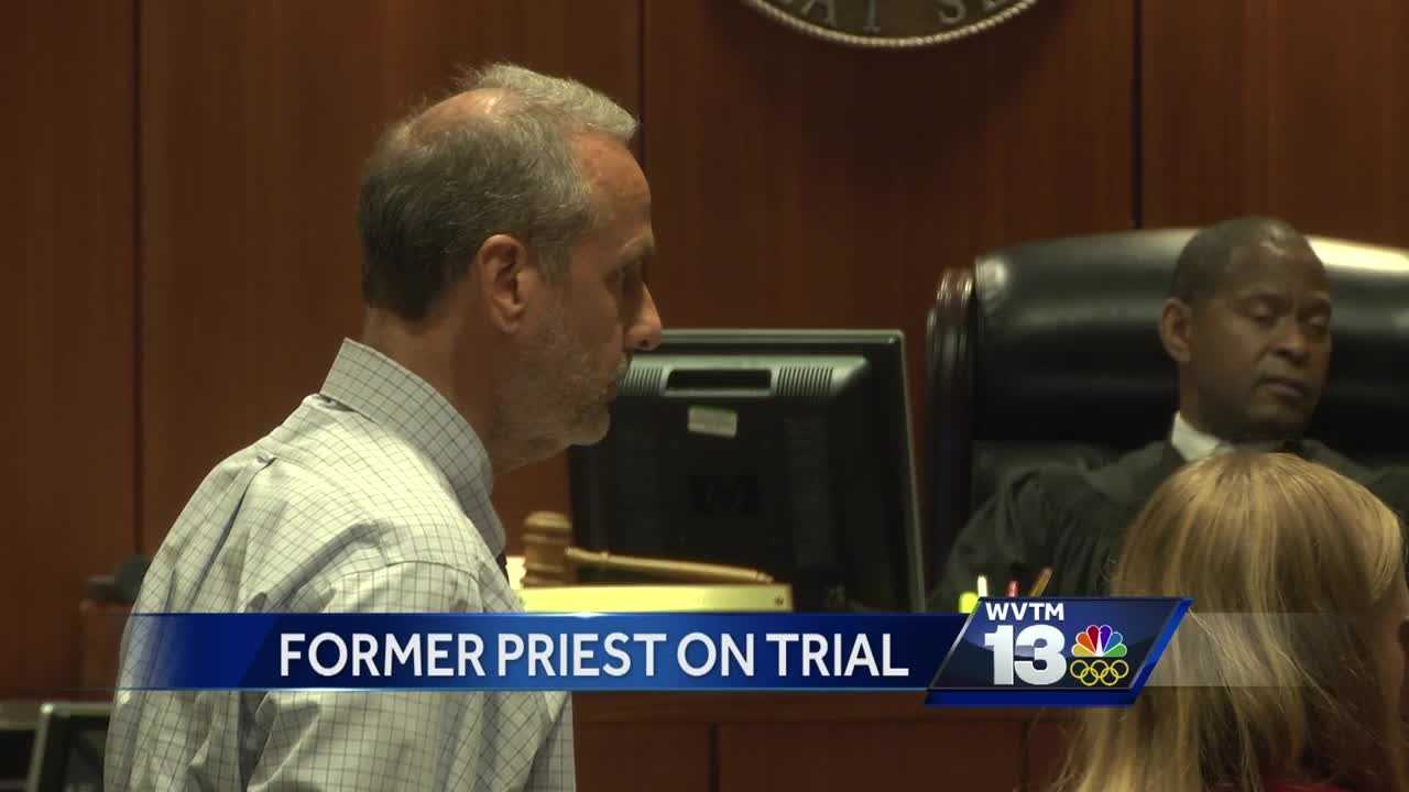 A TRIAL IS UNDERWAY IN JEFFERSON COUNTY IN THE CASE OF A CATHOLIC PRIEST ACCUSED OF SEXUALLY ABUSING A CHILD.