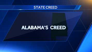 Alabama's creed was created in 1953.