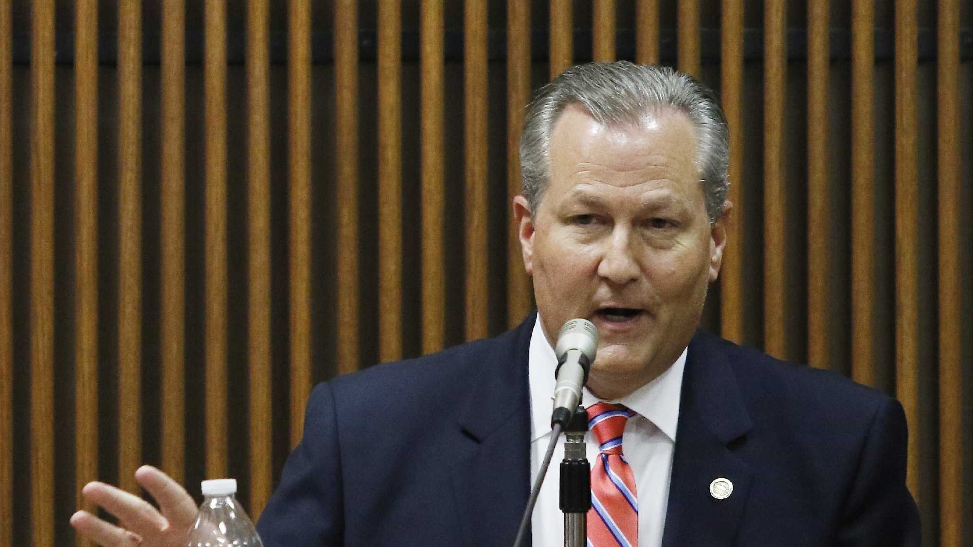 Mike Hubbard takes the stand