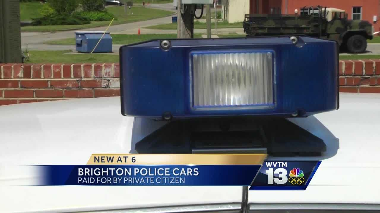 Brighton police cars