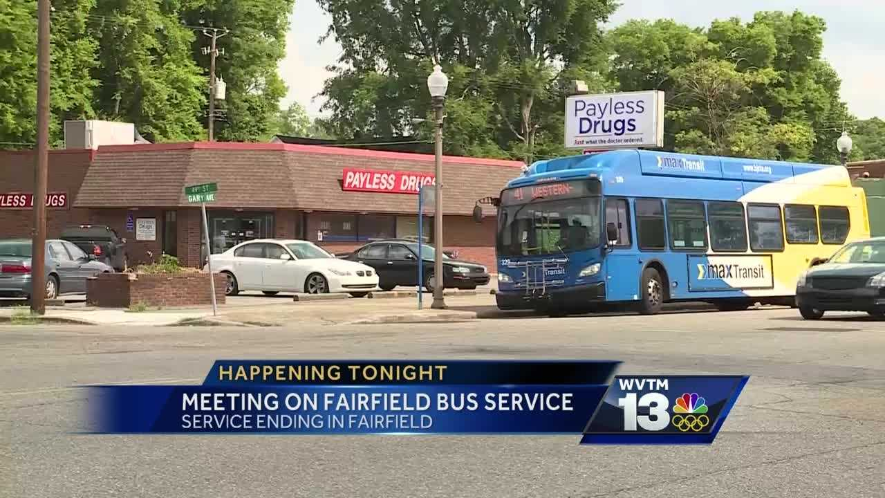 Meeting on Fairfield Max bus service