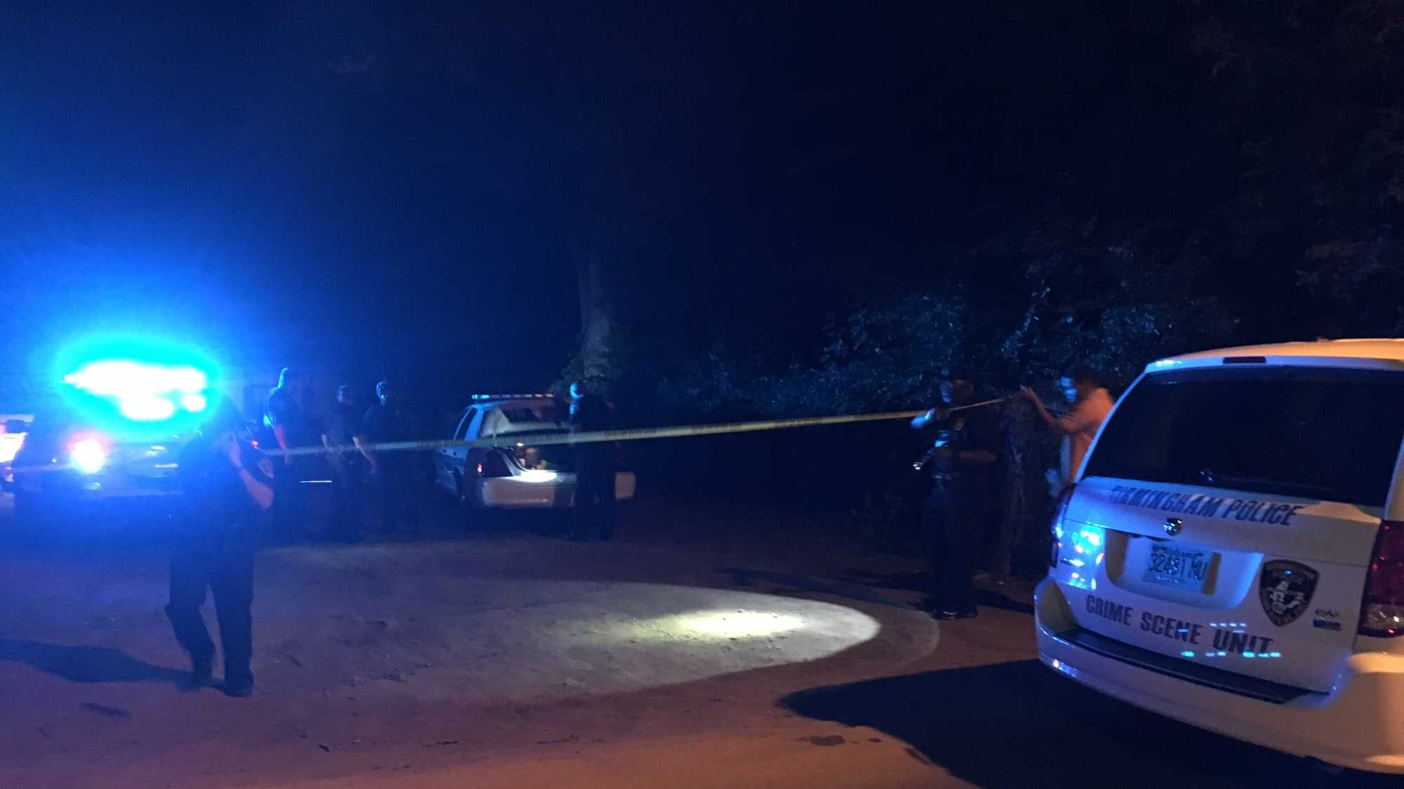Birmingham police are investigating a shooting that happened in an alleyway in the 7700 block of Fifth Avenue North on Wednesday.