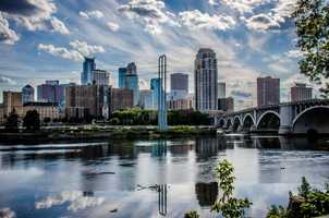 Minneapolis hosted its first and only RNC in 1892.M01229 - Downtown Minneapolis - Creative Commons Flickr