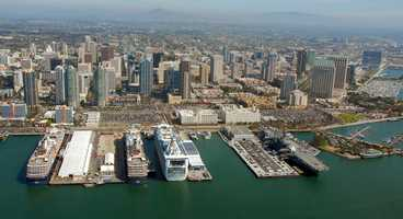 San Diego was given the opportunity to host the RNC in 1996.Port of San Diego - Cruise Ships Visit Port of San Diego - Creative Commons Flickr