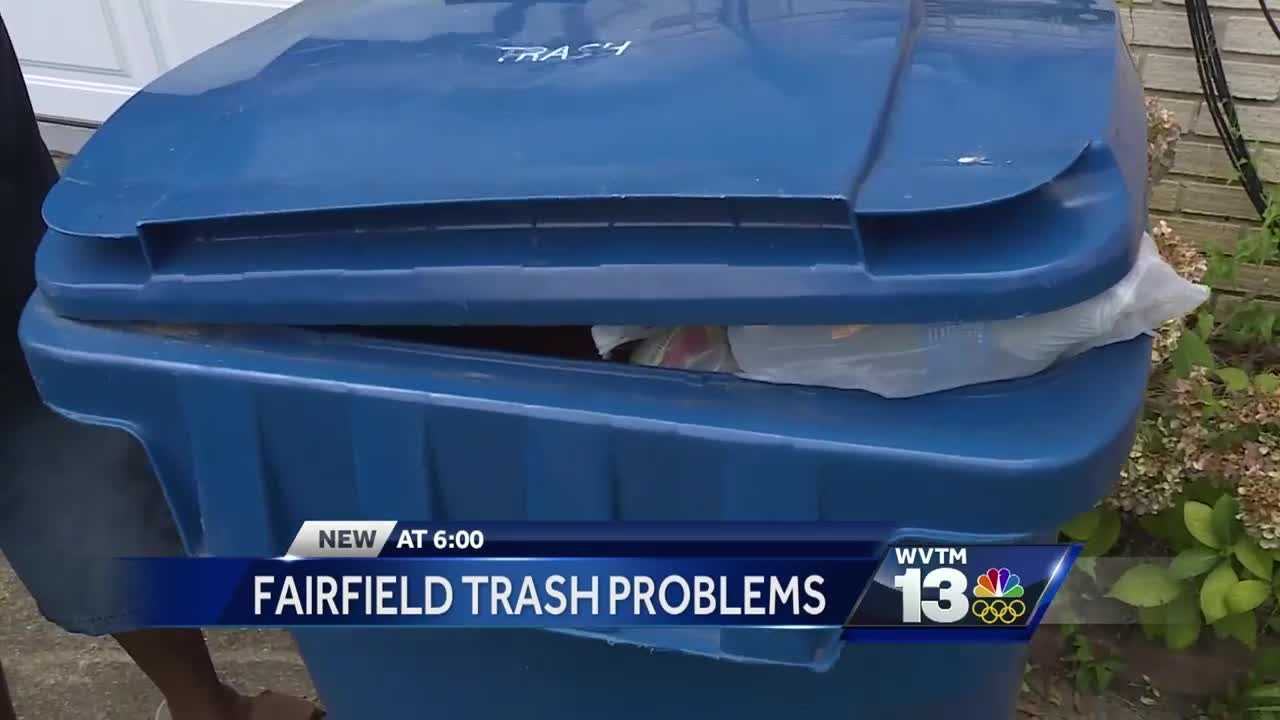 Trash piling up in Fairfield