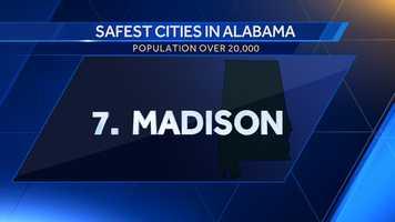 Population: 46,441Violent crime per 100,000: 323Property crime per 100,000: 2,030.5Crime score: 664