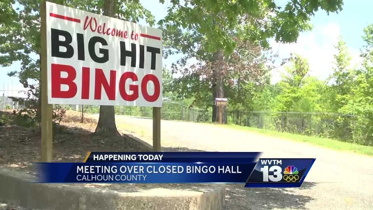 Calhoun County bingo hall meeting at sheriff's office