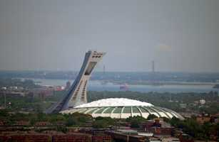 Known for being a great host for the Winter Olympics, Canada hosted the summer games in 1976.Montreal Olympic Stadium - Nic Redhead - Creative Commons Flickr