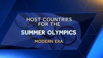 The modern era Summer Olympics were first held in 1896 in Greece. Since then, a plethora of countries have been given the honor to host the summer games.