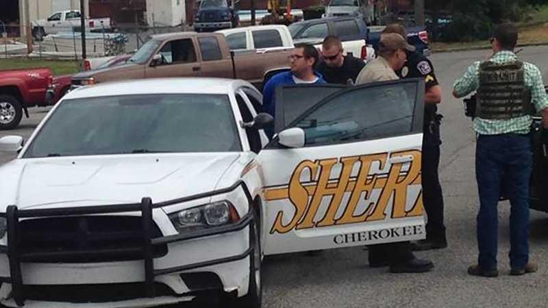 Jeffery Wilcox Jr. was taken into custody in Centre Tuesday afternoon.