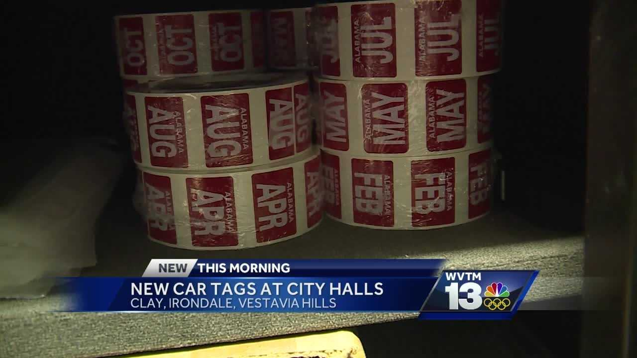 Car tags now available at some local city halls