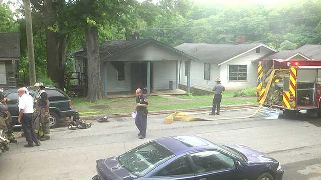 Fire damages Birmingham home
