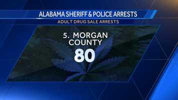 Opium/Cocaine: 60Marijuana: 4Synthetic drugs: 5Other: 11