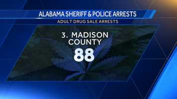 Opium/Cocaine: 3Marijuana: 4Synthetic drugs: 0Other: 81