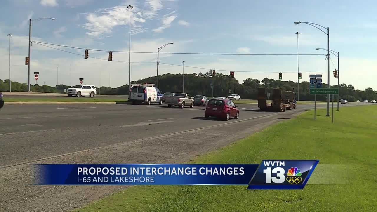 Proposed interstate changes on I-65