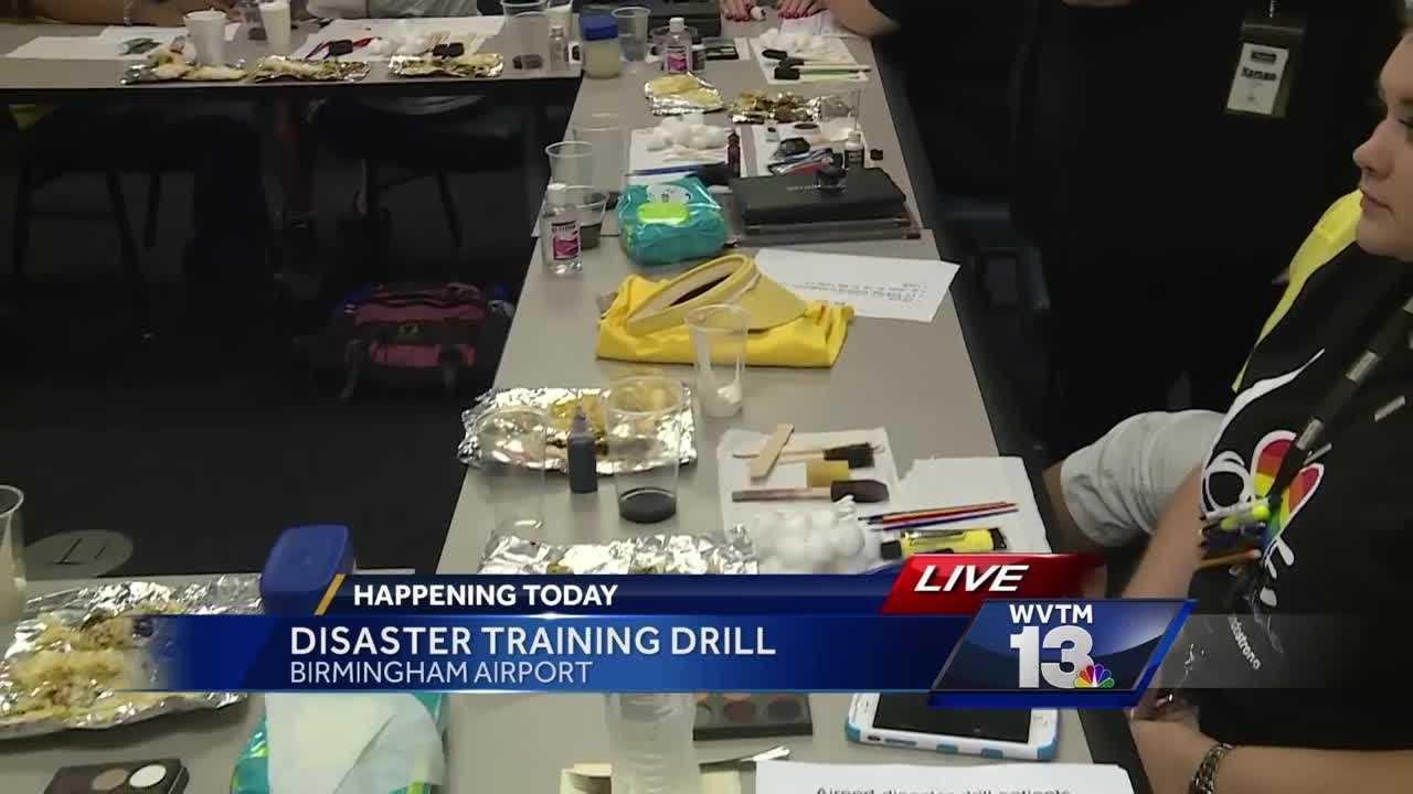 Disaster training drill Thursday at Birmingham airport