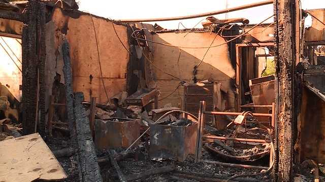 Fire displaces 10 girls in group home