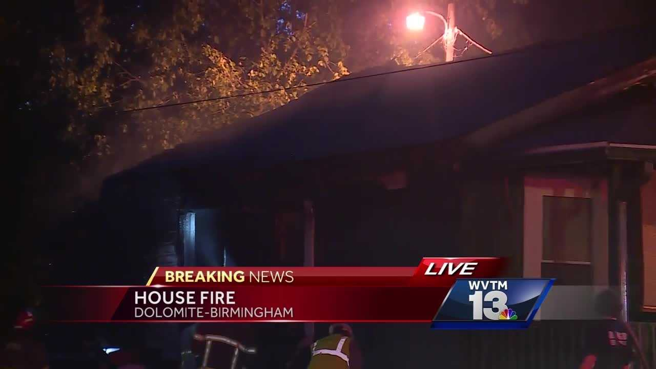 102-year-old woman escapes Birmingham house fire