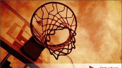 Boys Basketball High School Playbook Generic Stock Image - 23199055