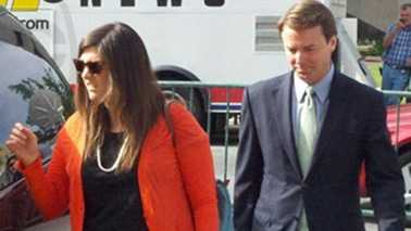 John Edwards arrives at court May 21