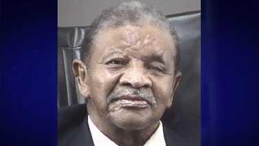 Rep. Larry Womble processing photo (Winston-Salem Police)