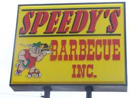 Speedy's Barbecue in Lexington has been one of the town's most popular spots for chopped pork since 1963.
