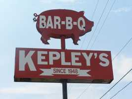Kepley's in High Point is a cozy, comfortable BBQ spot that thinks of its customers as friends.