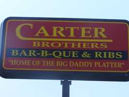 Carter Brothers BarBQue & Ribs opened their first store in High Point in 1997. It was so popular, they opened a second store just three years later.