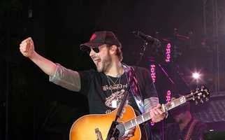 Eric Church- A native of Granite Falls, Church is one of country music's rising stars. His 2012 album, Chief, debuted at #1 on the Billboard 200.