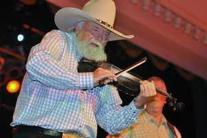 Charlie Daniels- I bet you're already humming the words to 'The Devil Went Down to Georgia'. Daniels was inducted into the Grand Ole Opry in 2008.
