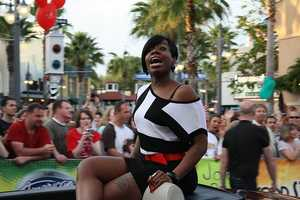 Fantasia Barrino- North Carolina singers have been a force on American Idol. High Point native Fantasia was the winner of season 3.