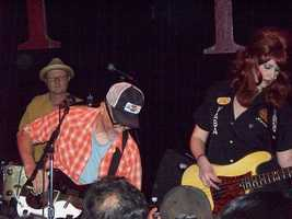 Southern Culture on the Skids- This Chapel Hill band play a mix of rockabilly, country, surf rock, and punk. Their live shows feature throwing fried chicken and banana pudding into the crowd!