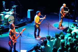 Superchunk- Another indie-rock band from Chapel Hill, Superchunk continue to tour and record albums. Two of the band's members founded Merge Records in Durham.