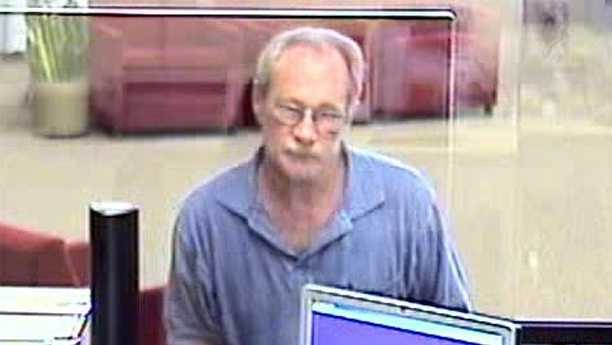 Surveillance photo of attempted robbery suspect at Bank of America