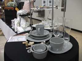 Picking out china or glassware for wedding gifts at Belk is easier than guessing what the couple will want...