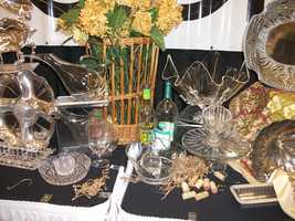 All kinds of gifts for the couple. Individual gifts for the wedding party...(Belk)