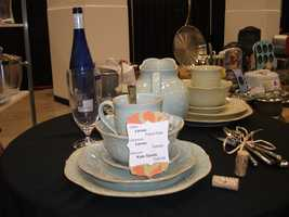China and glassware from Belk can make nice gifts for the happy couple...