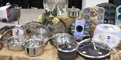 This cookware from Belk will help the couple make fabulous meals together...