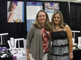 Lia Sophia was represented at the Carolina Weddings Show to help couples find presents for the wedding or the bridesmaids...