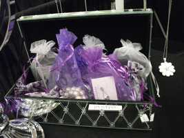 Gifts can be given at the wedding shower or dinner for the wedding party or nicely made up for the mothers of the bride and groom. Elegant gift bags with favors can be given out to guests like at the Red Carpet. (Sophia Lia)