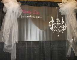 The Thirty-One Personalized Gifts booth...