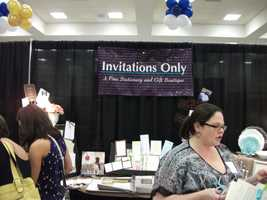 Invitations Only - A Fine Stationary and Gift Boutique was also represented at The Carolina Weddings Show...