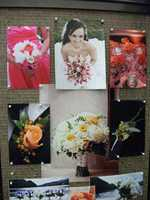 Bouquets, boutonnieres and a even a single flower for each guest can be bought from the same florist or shop. (Beverly's of Midway Flowers and Gifts)