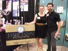 Jamie Lynn Photography showed off their photos to prospective couples for their wedding planning...