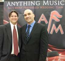 Anything Music was represented at The Carolina Weddings Show. These fun guys showed and discussed their business with ease for all your music wedding planning needs...