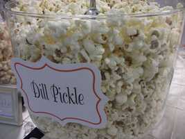 Even Dill Pickle has a place on the popcorn bar. (The Popcorn Fanatic)