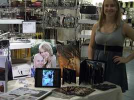 Nia Capri Photography was at theBelk Engagement Party to talk to couples about her photo packages and style.